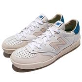 【六折特賣】New Balance 休閒鞋 CRT300 白 米白 男鞋 女鞋 麂皮 復古奶油底 運動鞋【PUMP306】 CRT300WLD
