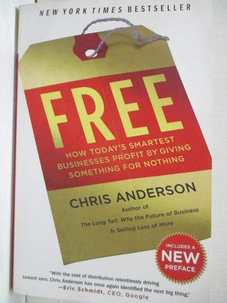 【書寶二手書T1/歷史_ACY】Free: How Today's Smartest Businesses Profit…