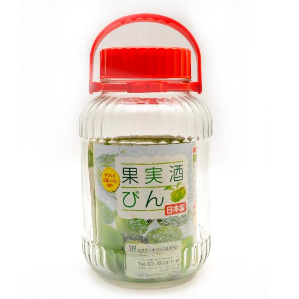日本製【SASAKI】梅酒/水果酒/玻璃醃漬罐 8L