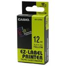 【奇奇文具】卡西歐CASIO XR-12YW1 12mm×8M 黃底黑字 標誌帶