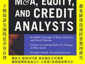 二手書博民逛書店Accounting罕見For M&a, Equity, And Credit AnalystsY364682