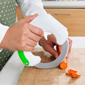◄ 生活家精品 ►【Q229】圓形滾動式菜刀 廚房 刀具 切片 不鏽鋼 料理 烘焙 備料 環型 蛋糕 點心