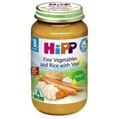 HiPP喜寶 天然花椰菜小牛肉飯全餐220g