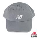 New balance 灰藍色 帆布 鴨舌帽NO.H2808【新竹皇家 LAH91014 SEL】
