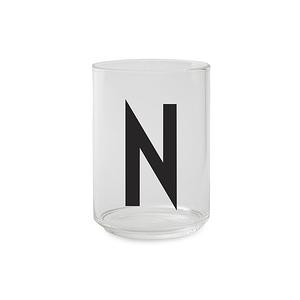 Design Letters 字母玻璃杯 N