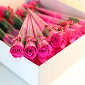 【BlueCat】蝴蝶結鑲鑽 康乃馨 玫瑰花束 婚禮小物 畢業禮物 禮品 贈品 人造花 情人節 母親節