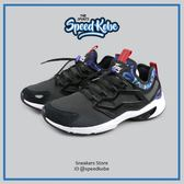 REEBOK Fury Adapt AR 黑 紫 白底 塗鴉設計 運動鞋 休閒鞋 復古慢跑鞋 男 BD2851☆speedkobe☆