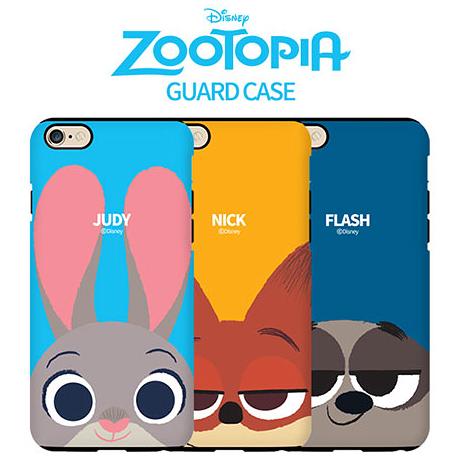 特價商品│ Zootopia 動物方城市 雙層防摔 手機殼│iPhone 7 8 Plus Note8│z7192