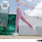 《KS0755》台灣製造.腰鬆緊抽繩膝蓋3D剪裁口袋運動褲 OrangeBear