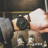 流行男錶原宿風大錶盤手錶男女學生正韓簡約時尚潮流復古男錶全館滿千88折