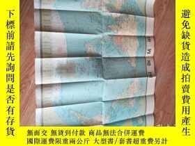 二手書博民逛書店罕見地圖:世界地圖Y10202 地圖出版社 出版1980