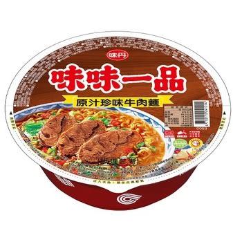 味味一品原汁珍味牛肉麵185g 8碗/箱【合迷雅好物超級商城】