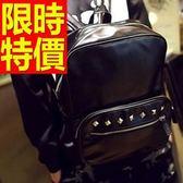 後背包-高貴韓版氣質皮革男女-雙肩包-1款59ab39[巴黎精品]