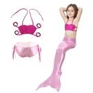 美人魚泳裝 三件式泳裝 拍照攝影 造型服 角色扮演 橘魔法 現貨 童 泳衣 兒 女童