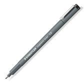 施德樓 MS308 12-9 防乾耐水性 寬筆幅代針筆 1.2
