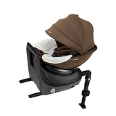 【愛吾兒】Combi 康貝 CULMOVE Smart 0-4歲 安全汽車座椅-爵色棕