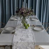 時尚可愛空間餐桌布 茶几布 隔熱墊 鍋墊 杯墊 餐桌巾桌旗 448 (30*160cm)