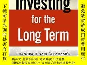 二手書博民逛書店Investing罕見For The Long TermY464532 Francisco Parames W