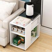 茶幾簡約現代臥室小邊幾家用小戶型迷你矮桌客廳小桌子創意小茶桌ATF 格蘭小舖