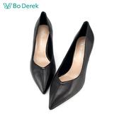 Bo Derek 尖頭造型鞋跟高跟鞋-黑色