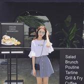 洋裝女夏季新款學院風小清新套裝裙學生韓版bf兩件套裙子潮st260 秘密盒子
