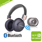 Avantree無線藍牙低延遲音樂傳輸組- Saturn Pro音樂藍牙發射器+Audition Pro藍牙NFC耳罩式耳機