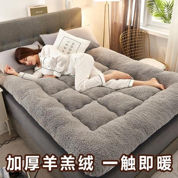 床墊 加厚羊羔絨床墊軟墊被家用床褥子榻榻米墊子租房專用學生宿舍單人【快速出貨】