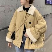 快速出貨 棉服外套女冬季韓版寬鬆洋氣小個子時尚加厚棉衣棉襖【全館免運】