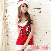 聖誕角色扮演 紅尾牙 角色服 表演服 聖誕裝cosplay服裝跨年派對服 仙仙小舖