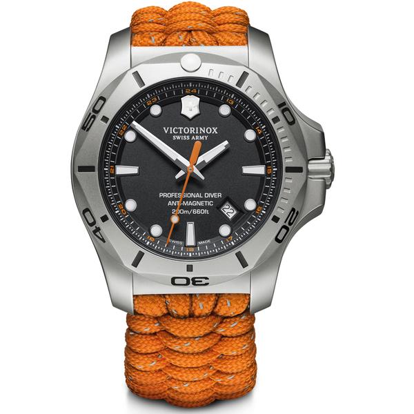 VICTORINOX SWISS ARMY瑞士維氏I.N.O.X. Professional Diver潛水錶 VISA-241845 橘