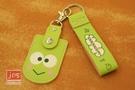 KeroKeroKeroppi 大眼蛙 二代鑰匙圈磁扣包 綠 871976
