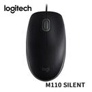 [富廉網]【Logitech】羅技 M110 有線靜音滑鼠