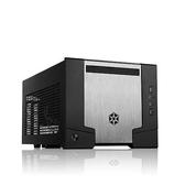 SilverStone 銀欣 SG07 SST-SG07 黑色 Mini ITX 電腦機殼 (內含600W電源供應器)