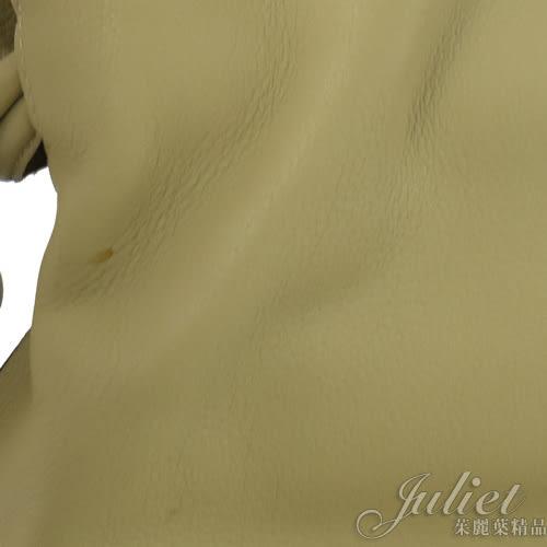 茱麗葉精品 二手精品【9成新】LOEWE 經典LOGO 荔枝牛皮束口肩背水桶包.米