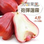 沁甜果園SSN.砲彈蓮霧極品禮盒4斤﹍愛食網