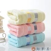5條裝 純棉毛巾成人洗臉家用柔軟厚男女全棉面巾【淘夢屋】