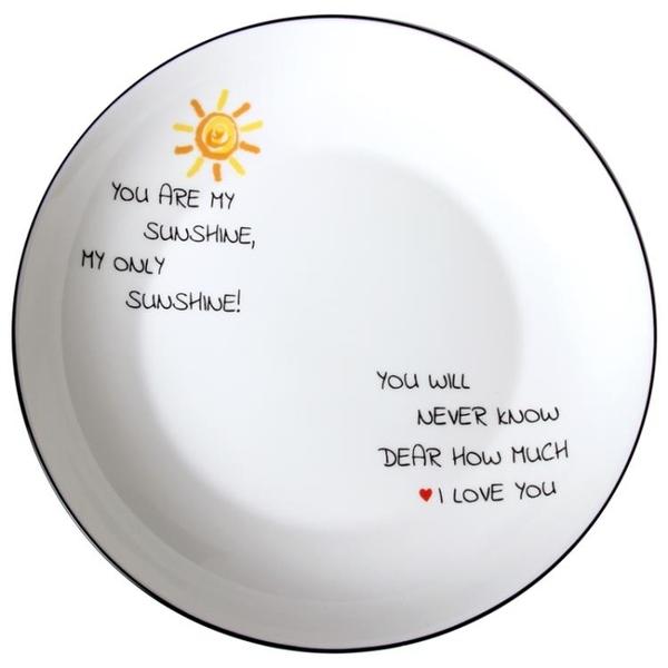 餐具 碗碟套裝 16頭陶瓷餐具碗盤碗筷禮盒裝家用盤子吃飯碗可微波爐【限時八折】