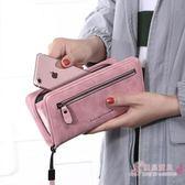 長夾 錢包女長版手拿包拉鍊多功能復古簡約大容量女士皮夾新品錢夾 中元節禮物