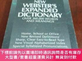二手書博民逛書店NEW罕見WEBSTER S EXPANDED DICTIONARY 新韋伯斯特擴展版詞典(英文原版)Y204