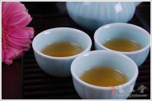 竹制茶盤粉青孔雀開屏