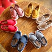 饅頭家-小中童春帆布糖果色軟底簡約懶人鞋(6色)【6P706】