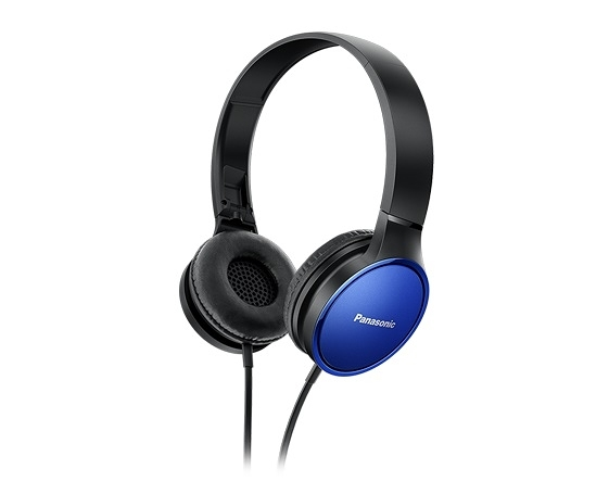 Panasonic HF300輕量繽紛耳罩式藍牙耳機-藍 RP-HF300MGCA