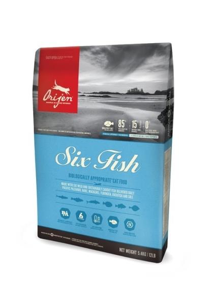 『寵喵樂旗艦店』 Orijen渴望 挑嘴貓配方 六種鮮魚+海藻  1.8kg