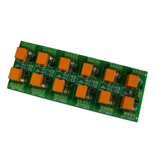[2美國直購] denkovi 繼電器模組 12 Channel relay board for your Arduino or Raspberry PI 24V