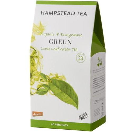 英國漢普斯敦 有機綠茶(100g)Hampstead Loose Leaf Green Tea Demeter 德米特