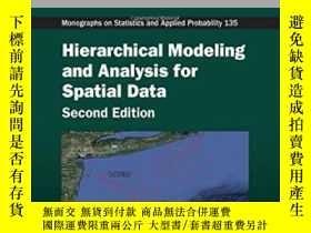 二手書博民逛書店Hierarchical罕見Modeling And Analysis For Spatial Data, Sec