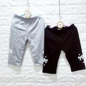 ☆棒棒糖童裝☆(E88803)夏女大童鬆緊腰貼布蝴蝶結星星內搭中褲  120-165