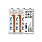 PHILIPS 飛利浦 碳鋅4號電池4入(熱縮)