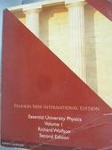 【書寶二手書T8/大學理工醫_QIZ】Essential University Physics-Volume 1_Ric