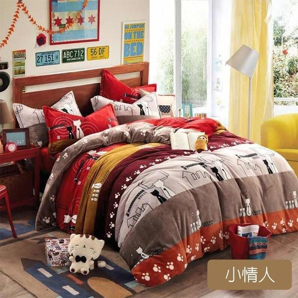 莫菲思 嚴選異國風情三件式床包-雙人